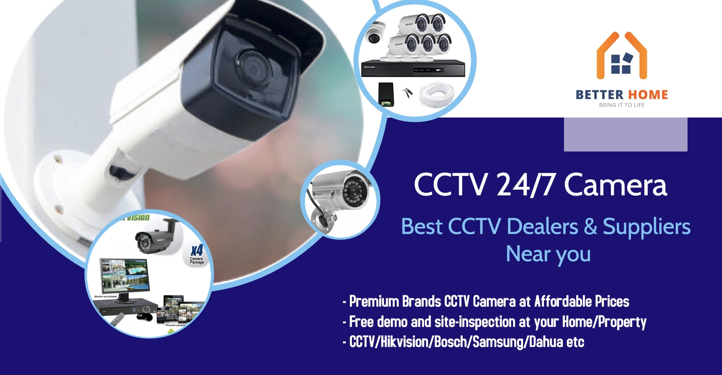 Best CCTV Dealers & Suppliers Near You
