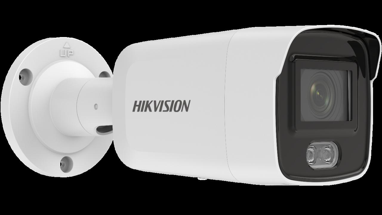 Hikvision 2 MP ColorVu Fixed Mini Bullet Network Camera DS-2CD2027G2-L(U)