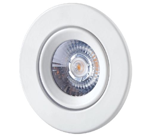 Luminous 3W Tiltable Focus COB Spotlight (Warm White)