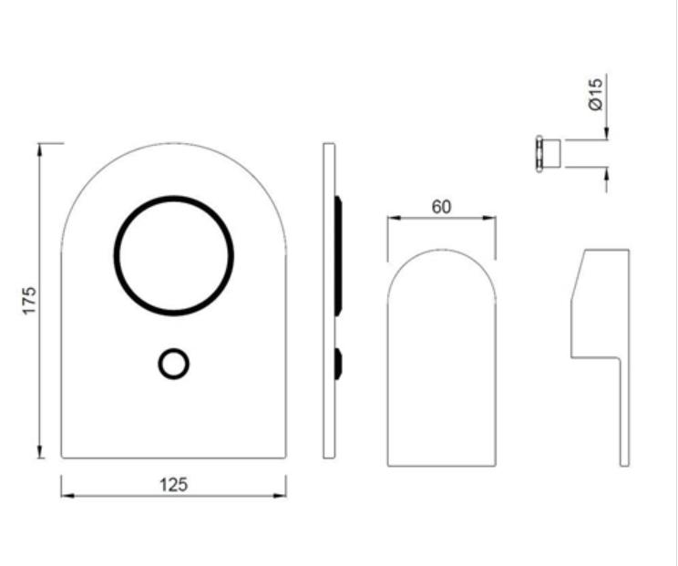 Jaquar Lyric Single Lever 3-inlet Diverter LYR-CHR-38193K